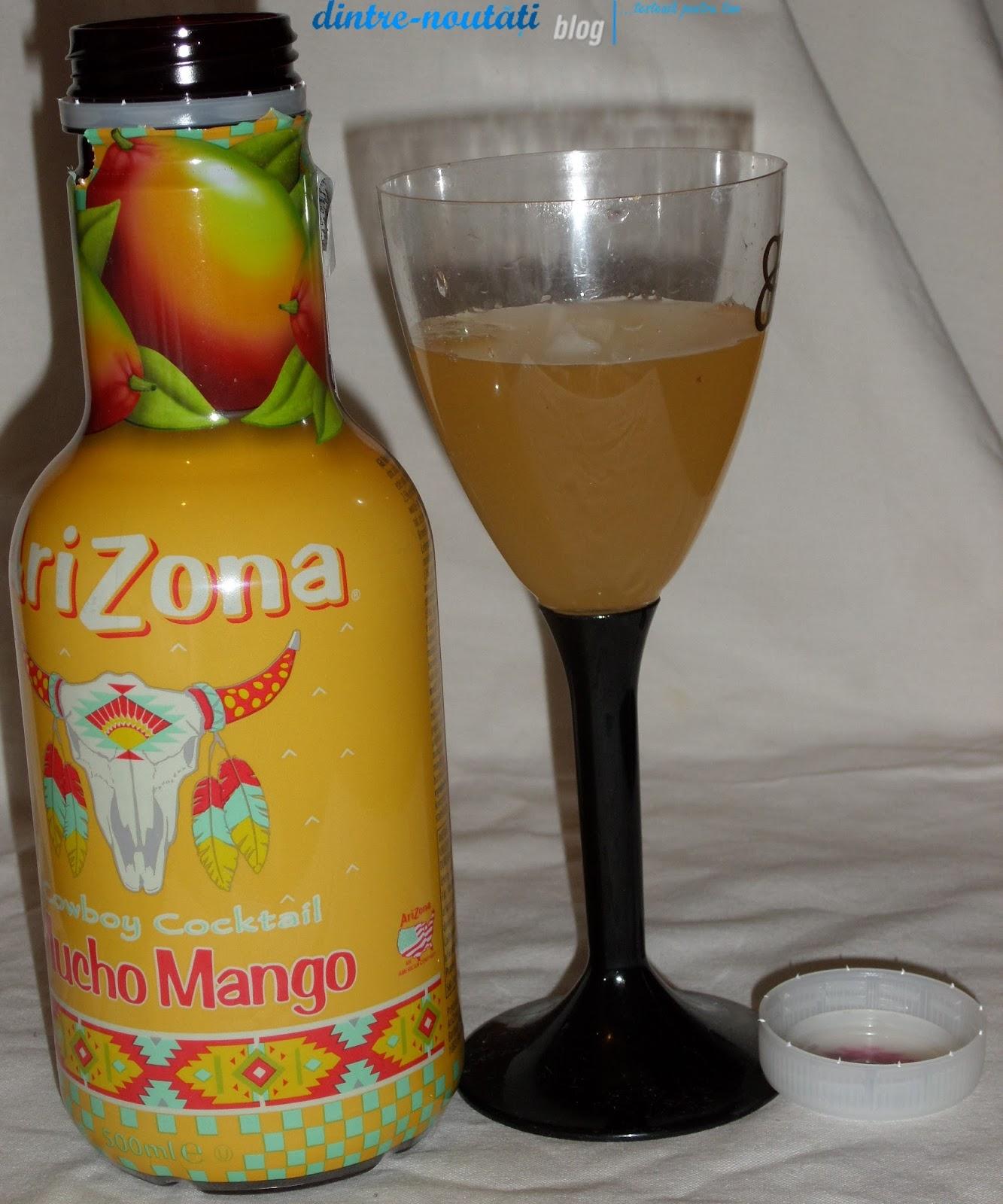 AriZona Cowboy Cocktail Mucho Mango - Băutură răcoritoare necarbogazoasă cu conținut de fructe 5,5%