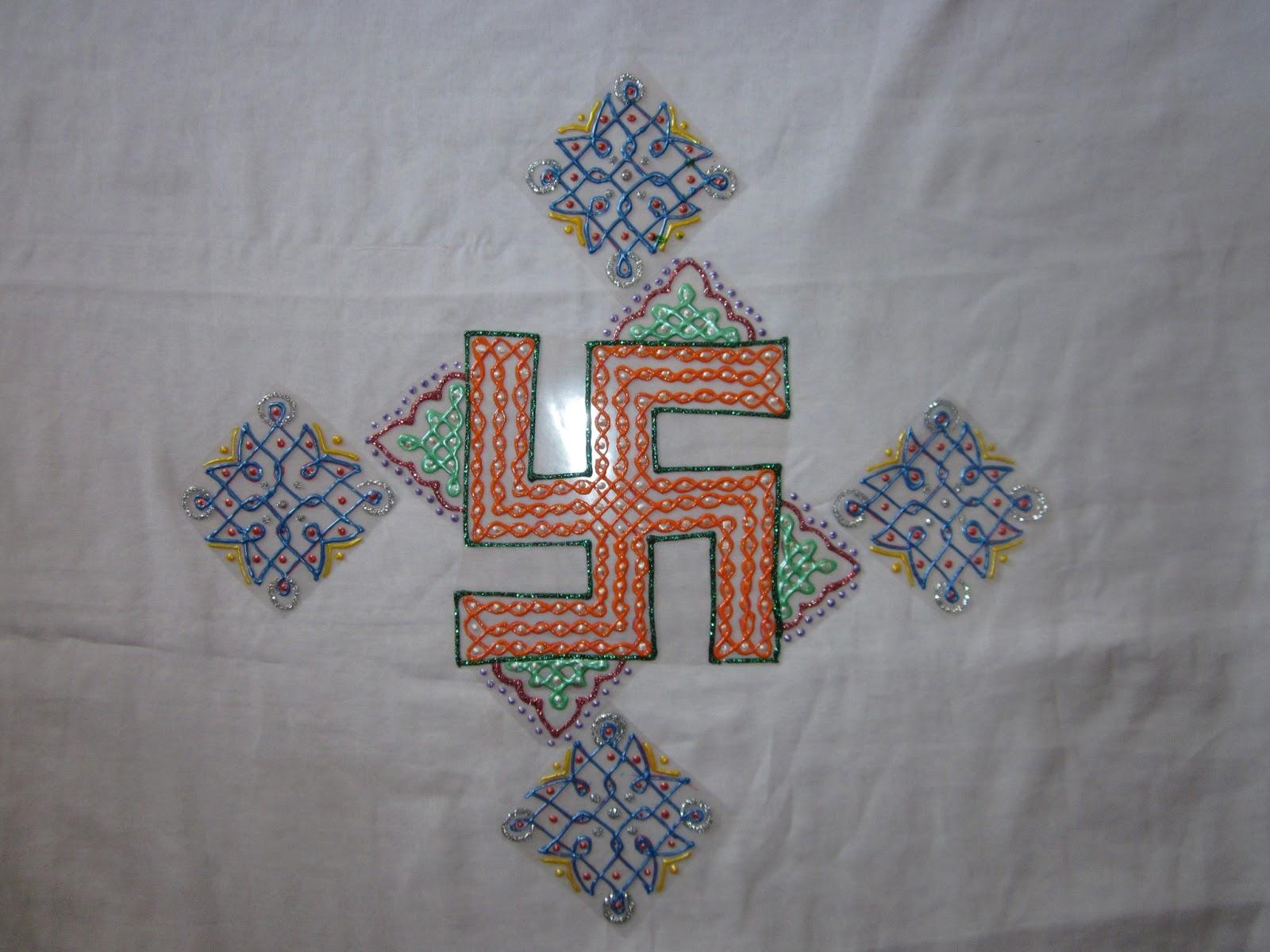 One Stop For Indian Handicrafts Colorful Rearrangable Floor