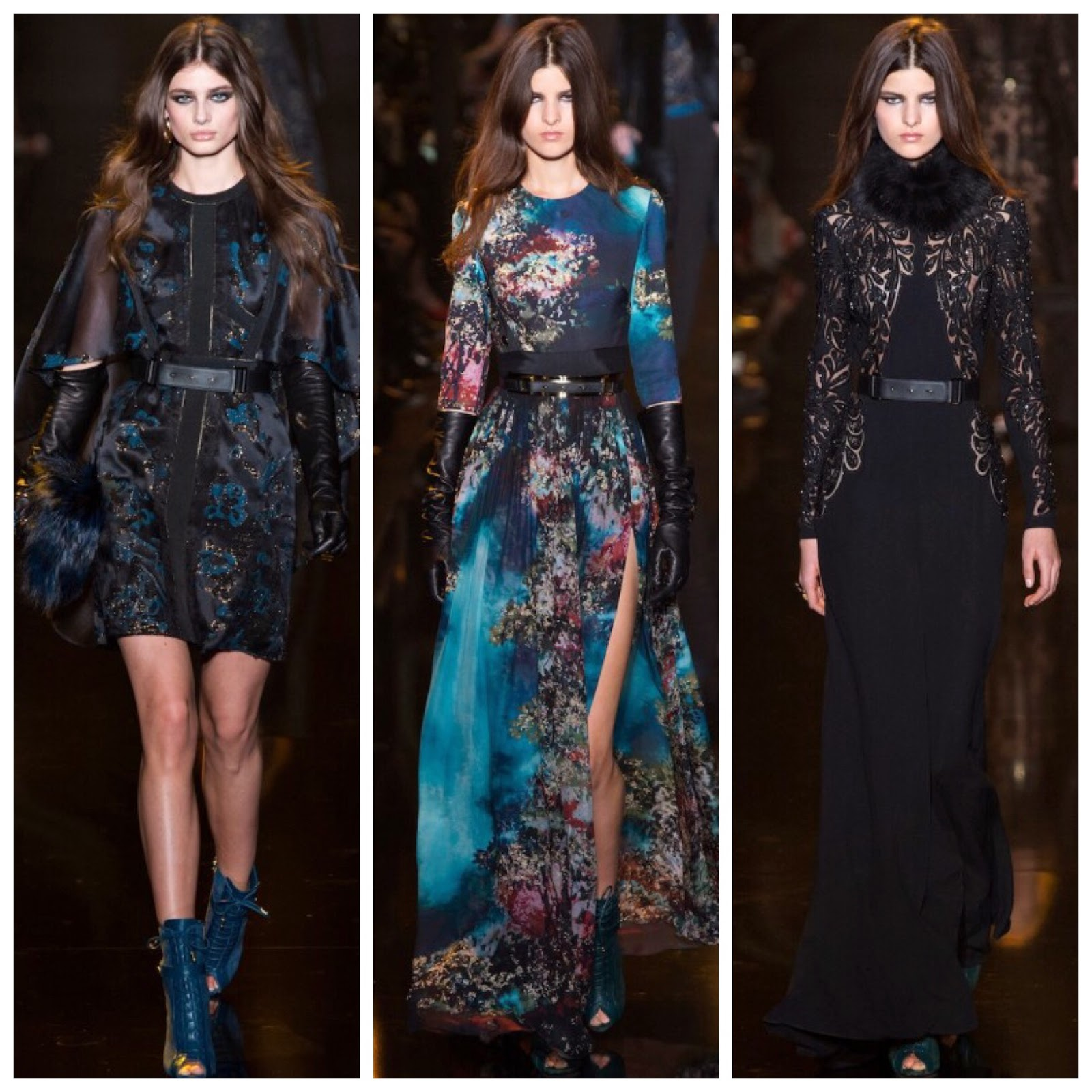 Elie Saab herfst winter collectie 2015