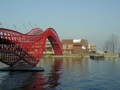Amsterdam, Eastern Docks bridge