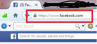 URL secure facebook