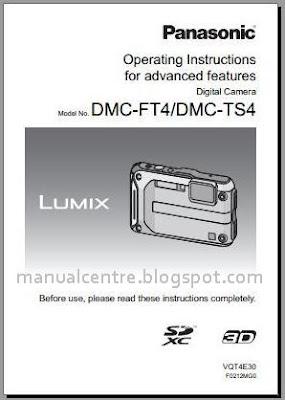 Panasonic DMC-TS4 / FT4 Manual