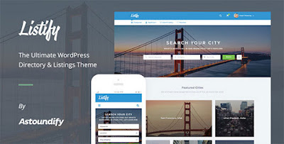Listify WordPress Directory Theme Download Free [Current Version 1.0.7]