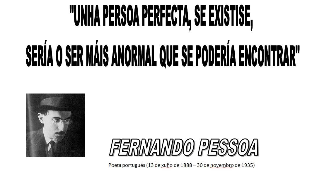 Fernando Pessoa Cita es o Seu Autor Fernando Pessoa