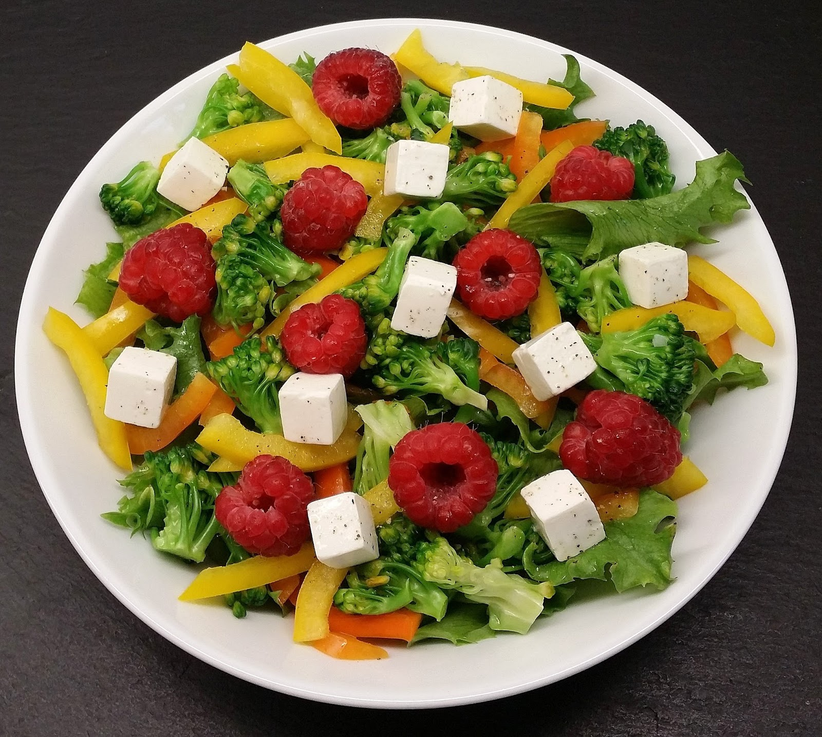 Klidfasterdk Grøn Salat Med Hindbær Og Feta