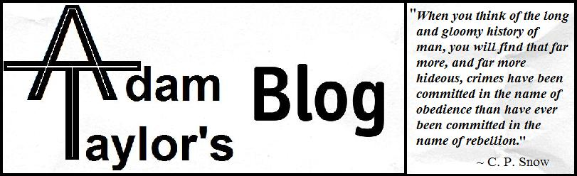 Adam Taylor's Blog