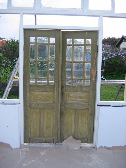 Colocando la puerta