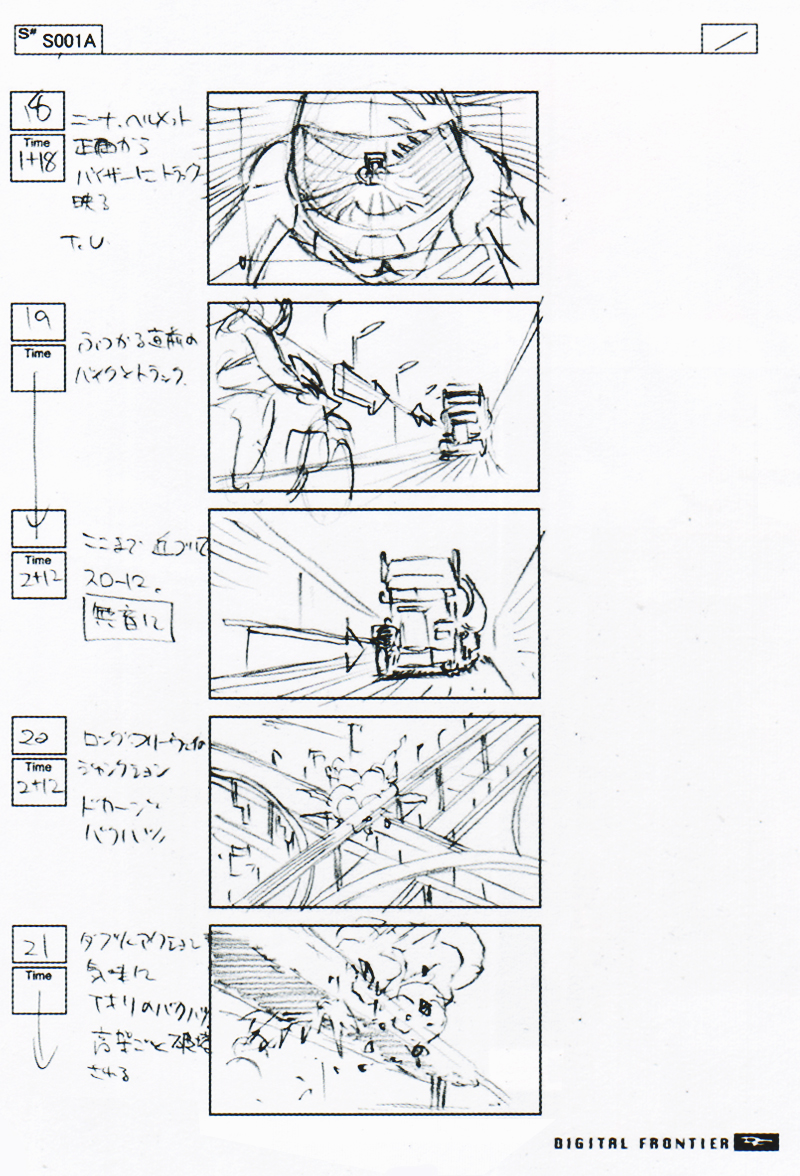 Tekken Movie Storyboard Nina