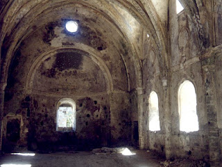 A derelict church in Turkey