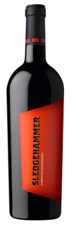 bottle of Sledgehammer Cabernet Sauvignon 2010 vintage