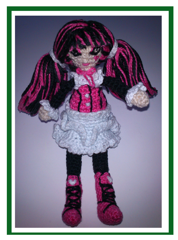 Amigurumi Monster High : Garabatinos: las manualidades de Inhata: junio 2013