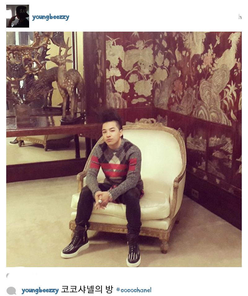 "Taeyang: ""Coco Chanel's Room"""