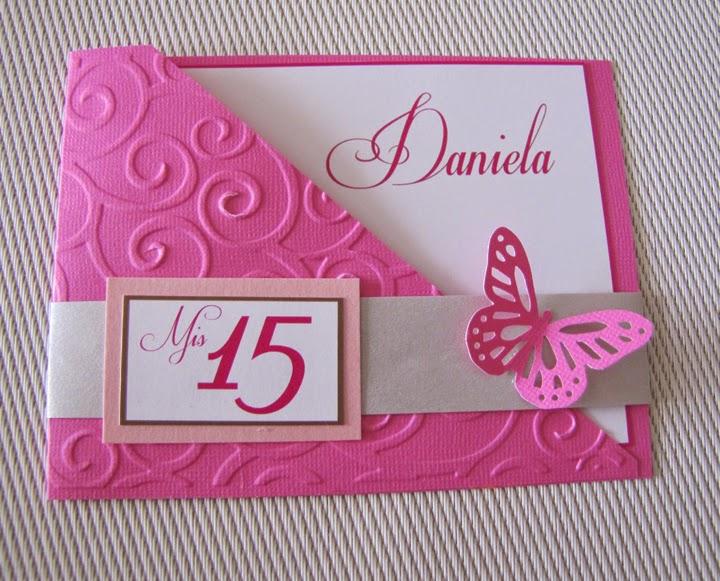 lindas y tiernas imagenes de amor: tarjetas de invitaciones de 15 ...