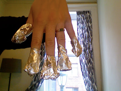 alien+fingers Polished: How To Remove Glitter Nail Polish