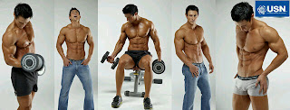 Jacques Fagan S.A fitness model