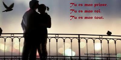 Message d'amour romantique pour son homme