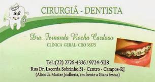 Cirurgiã Dentista - Dra Fernanda Rocha Cardoso