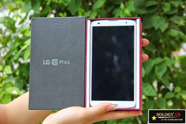 test máy LG G Pro 2 mới