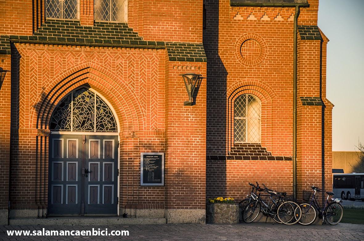 a la iglesia en bici salamanca