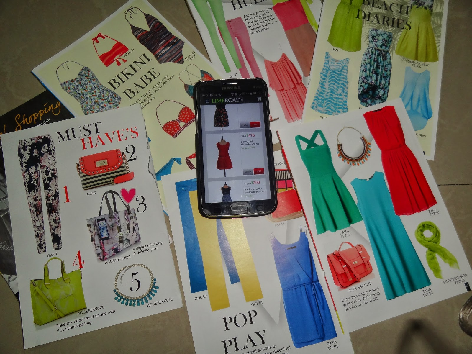 How to create scrapbook on limeroad - Creating High Fashion Looks With My Limeroad App