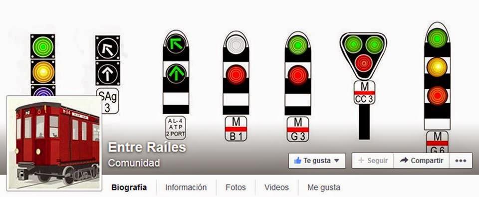 ENTRE RAÍLES Facebook