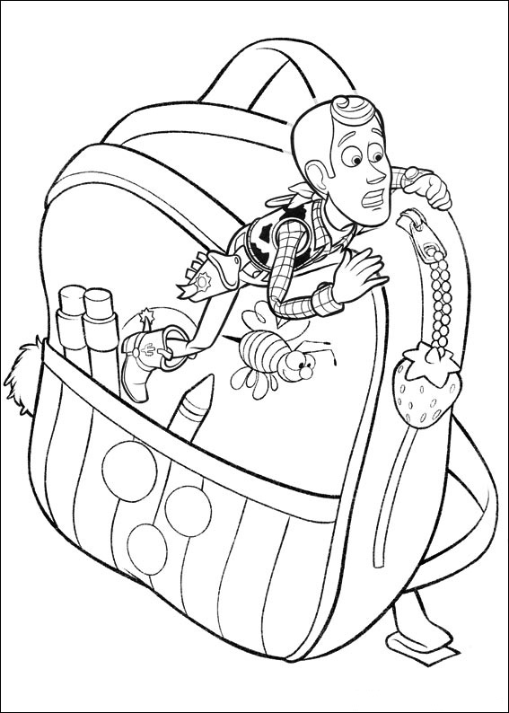 toy story 1 coloring pages - photo#17