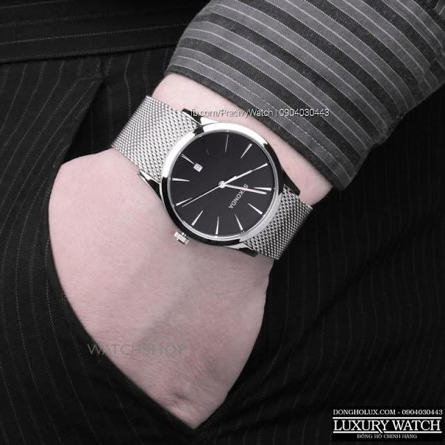 Dây Mesh phối với đồng hồ thời trang