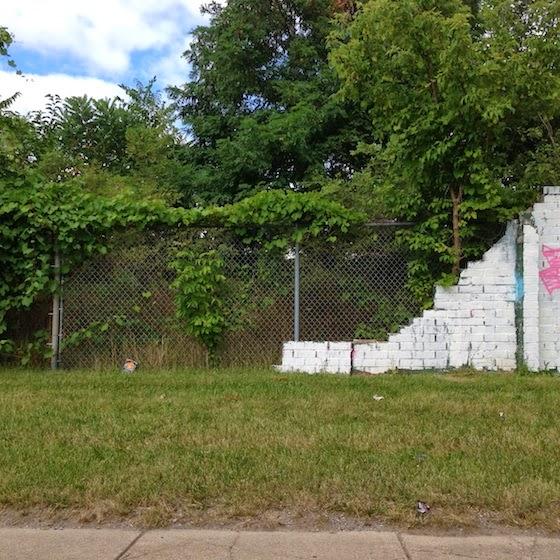 missing street art in Detroit