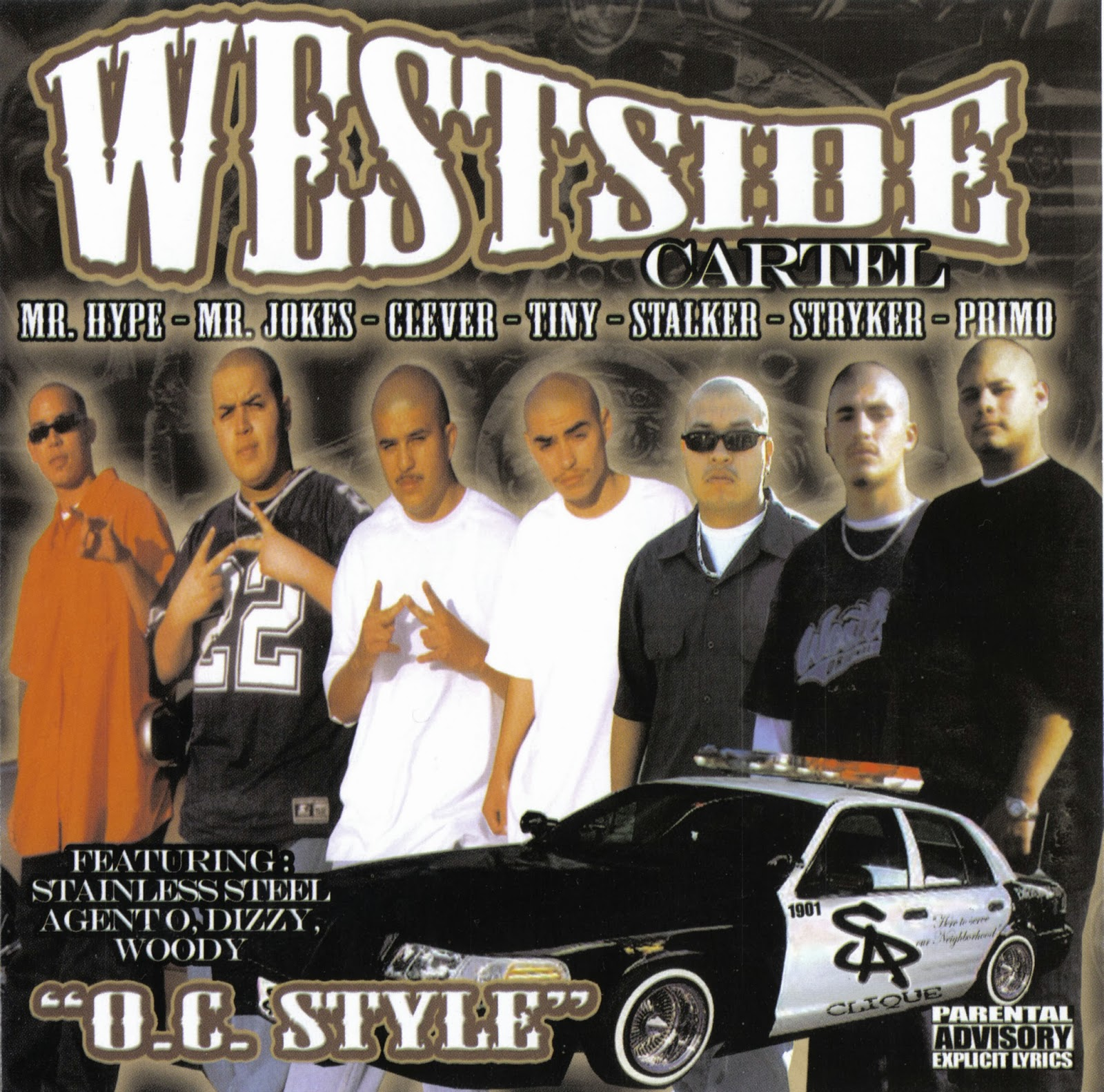 Westside Cartel - Cruisin Down Bristol The Mixtape