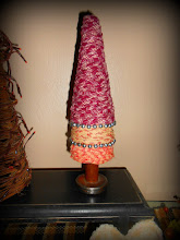 VALENTINE COLORS 3 TIERED RAG TREE