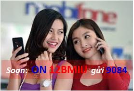 Cách đăng ký 3G gói 12BMIU của mobifone