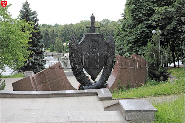 Памятник погибшим при исполнении сотрудникам и военнослужащим МВД