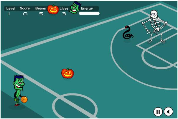 Ball Game : Spooky Hoops