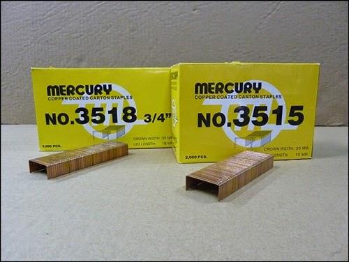 ลวดเย็บกล่อง Mercury (No.35)
