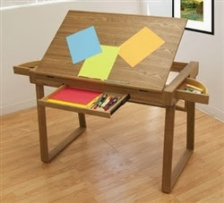 Wing Drafting Table by Studio Designs