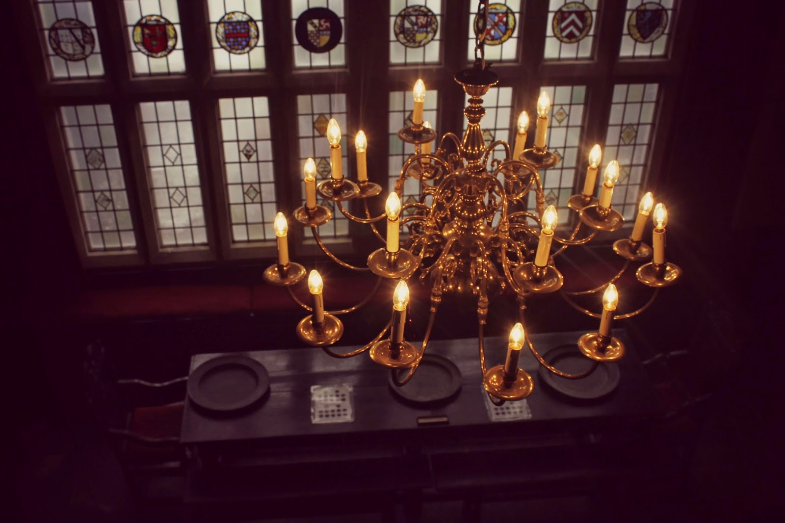 Bolling Hall chandelier