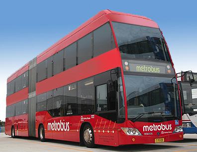 Fotot Bus Tingkat Milik Metrobus