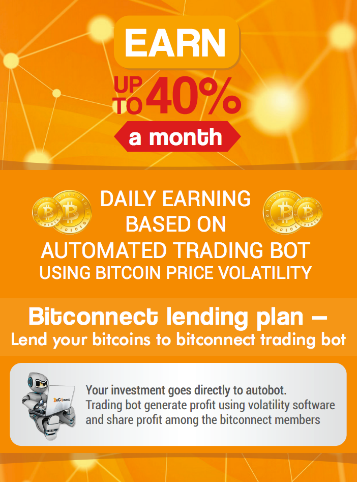 Lend Your Bitcoins to Bitconnect!