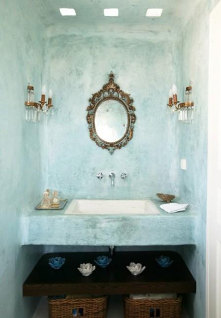 Marocco magia e atmosfera araba blog di arredamento e - Salle de bain tadelakt ...