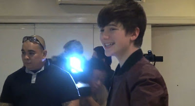 Greyson Chance gets Platinum Record Award in the Philippines