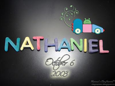 Nathaniel October 6 2003