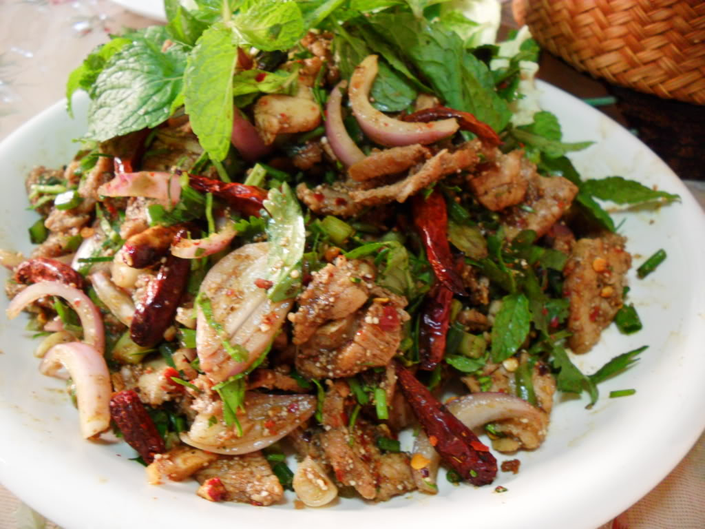 spicy basil beef salad recipe yummly the bitten word spicy basil beef ...