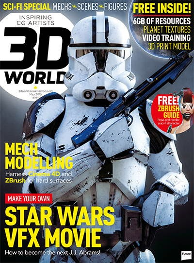 3D World Magazine May 2015