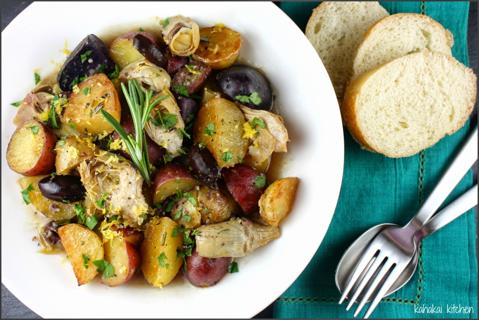 Provencal Potato Salad Recipe — Dishmaps