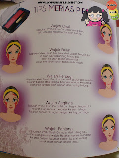 tips merias pipi dengan blush on