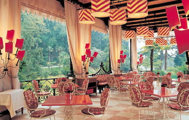 Decor Inspiration Lake Garda Luxury Hotel Places: The Grand Hotel Villa Feltrinelli, Italy