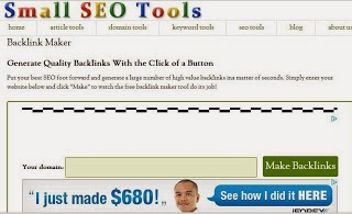 best free smallseotools maker builder