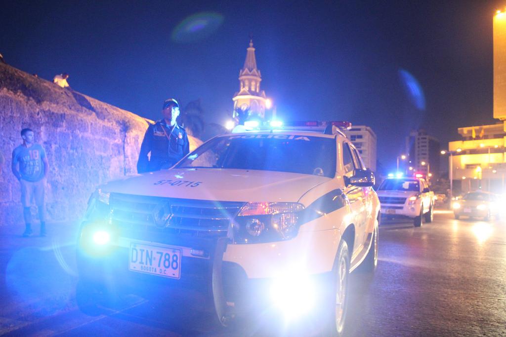 Policia Colombia
