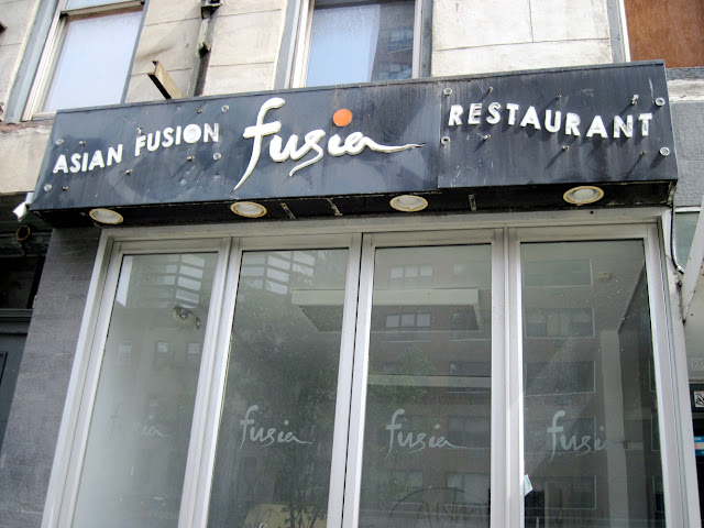 Fusion was for those dining in New York until it closed in December