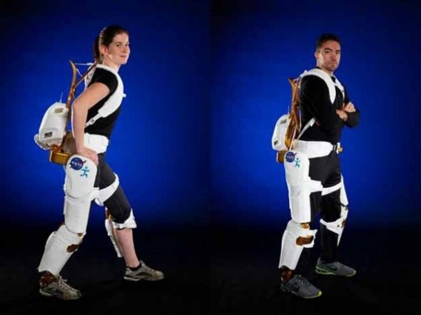 NASA Begins Using Robotic Exoskeletons